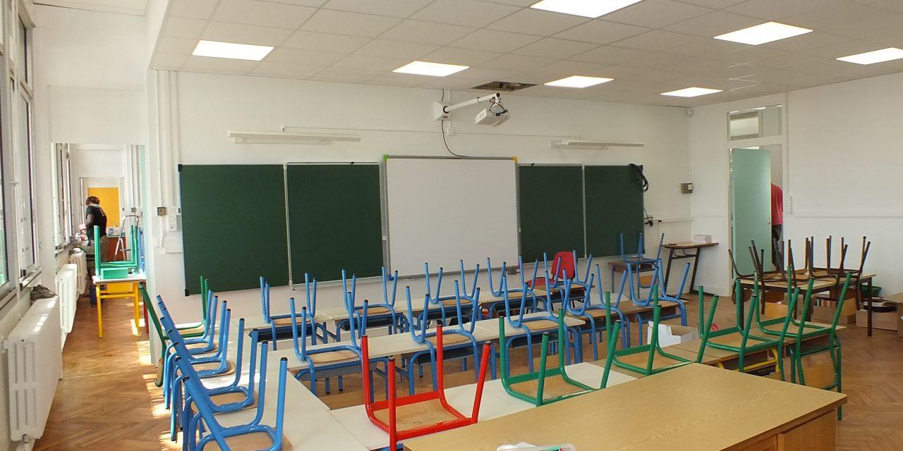 De gros travaux à l'école Georges Faure de Pellegrue
