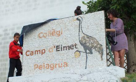 Une fresque dans les règles de l'art au collège de Pellegrue