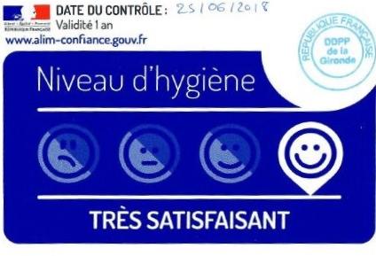 Rapport sanitaire de la cuisine centrale de Pellegrue