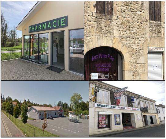 Les commerces ouverts à Pellegrue