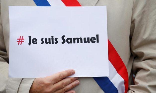Je suis Samuel : mercredi 21 octobre à St-Foy-la-Grande