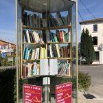 Une boîte à livres à Pellegrue